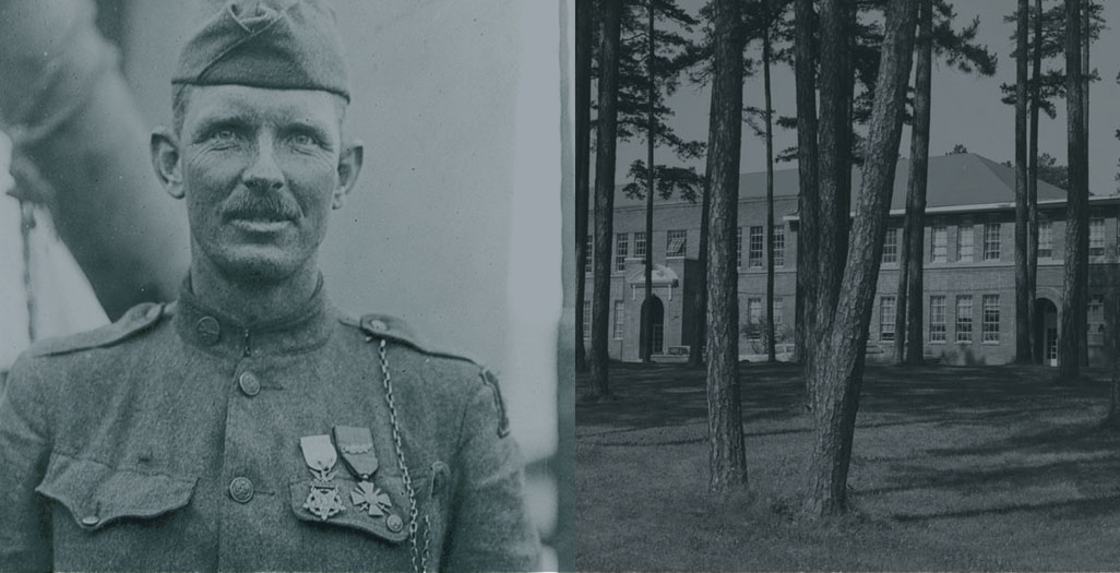 Sergeant Alvin C. York and the York Institute in Pall Mall, TN
