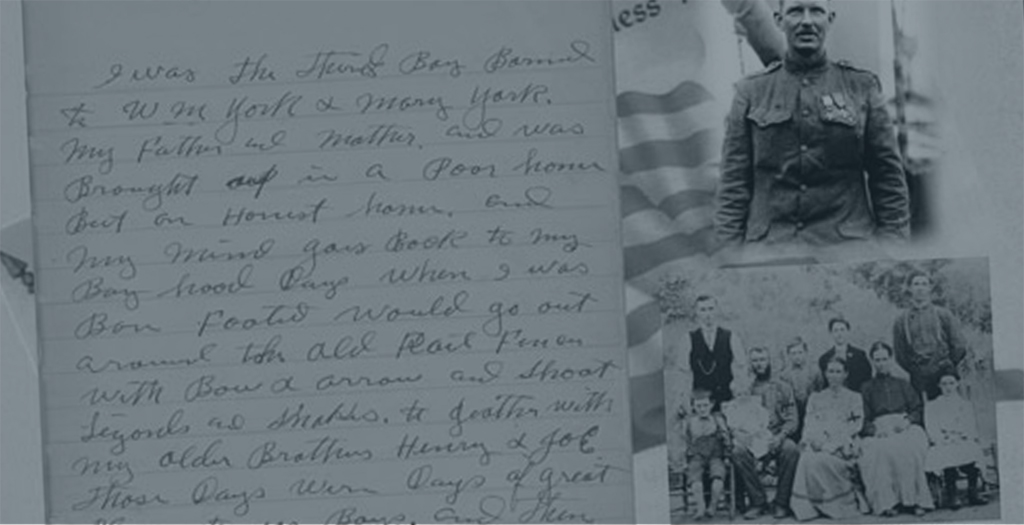 Personal journal of Sgt. York
