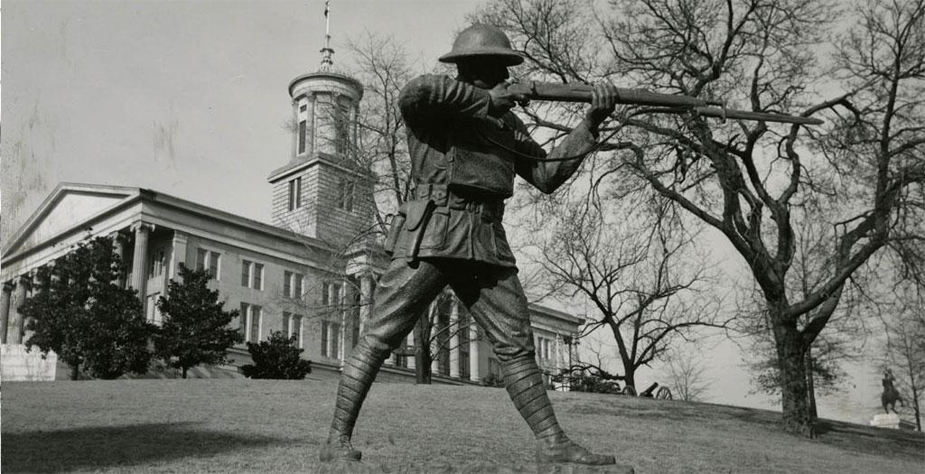 Statue of Sergeant Alvin C. York