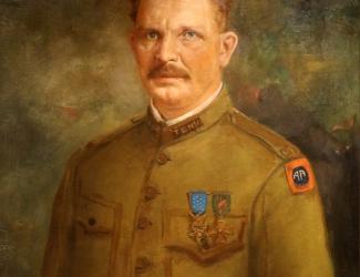 Portrait of Alvin C. York