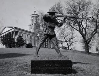Alvin C. York Statue