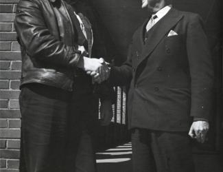 Alvin C. York and Jesse L. Lasky