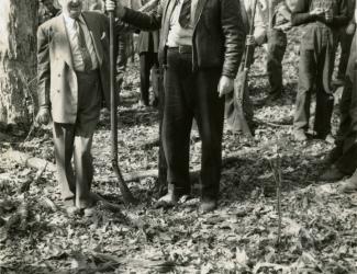Alvin York and Jesse Lasky