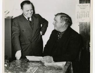Major Hilton Butler and Sergeant Alvin C. York