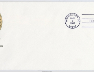 Postage Stamp Alvin C. York first day cover