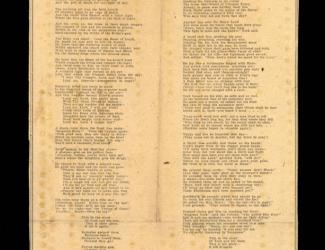 The Second Elder, poem by John Trotwood Moore