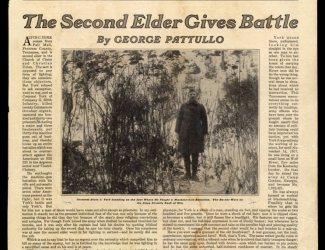 The Second Elder Gives Battle, magazin article by George Pattullo
