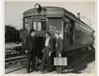Sergeant Alvin C. York, Tom Watson Rich, and John Shelby Crabtree