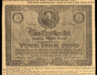 York Farm Fund Nashville Banner, article