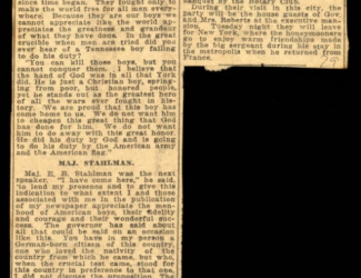 York Married to Miss Williams, article
