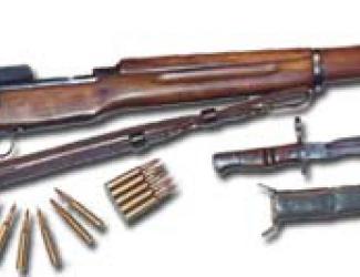 Enfield P14 Rifle and Bayonet