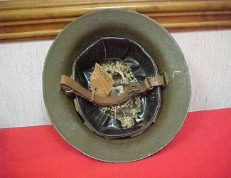 Helmet, inside view