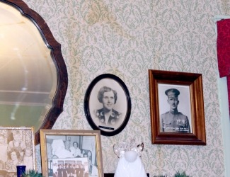 Photo on wall